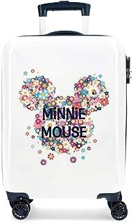Disney Minnie Sunny Day Maleta de cabina Azul 37x55x20 cms Rígida ABS Cierre combinación 34L 2,6Kgs 4 Ruedas dobles Equipa...
