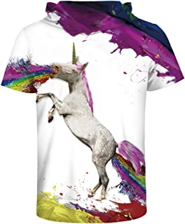 Slim Bloom Unisex Mens T-Shirt Hipster Hip Hop Active Short Sleeve Pullover Hoodies Shirts