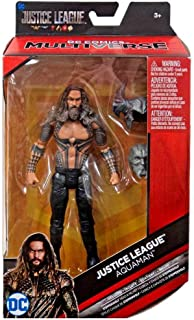 DC Multiverse Aquaman Justice League Shirtless Variant 6 Action Figure Exclusive