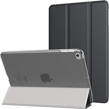 """MoKo Compatible con New iPad Mini 5th Generation 7.9"""" 2019/iPad Mini 4 2015 Funda, Delgado y Ligero Protector con Magnética Función de Cargar/Par y Auto Sueño/Estela - Gris Espacial"""