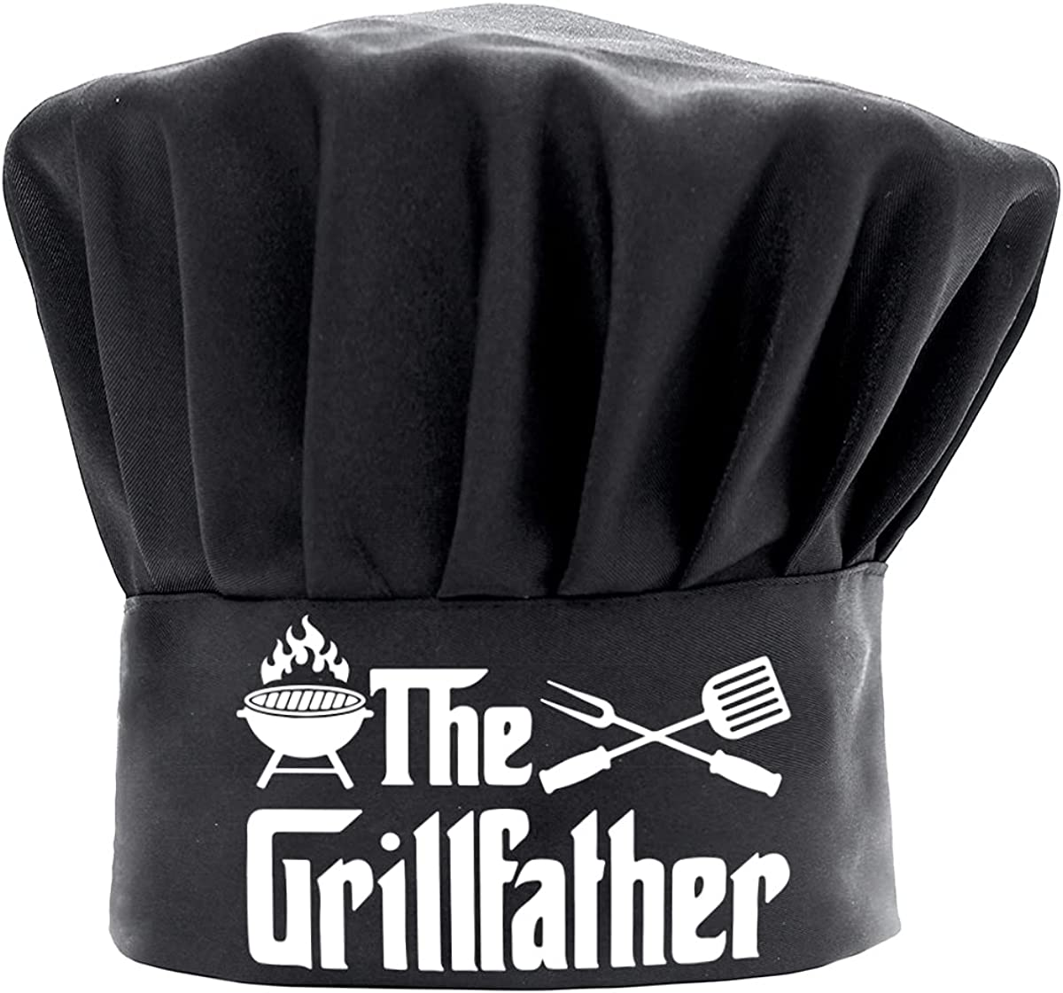 Chef Hats for Men Funny Black Grillfather A BBQ Cooking Max 63% OFF Hat SEAL limited product The