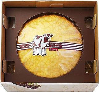 【北海道牧家Bocca ミルクレープ ホール6号 直径約19cm】TBS『世界くらべてみたら』で絶賛!北海道伊達にある自社レストラン『洋麺茶屋 牧家』の人気商品がギフトになりました。北海道産の新鮮な生クリームと、特製のカスタードクリームをクレー...