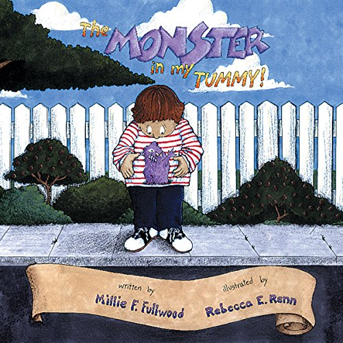 The Monster in My Tummy audiobook cover art