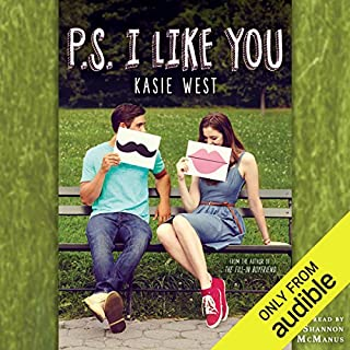 P.S. I Like You                   By:                                                                                                                                 Kasie West                               Narrated by:                                                                                                                                 Shannon McManus                      Length: 6 hrs and 56 mins     401 ratings     Overall 4.6