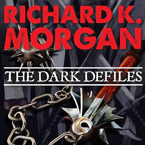 The Dark Defiles     A Land Fit for Heroes, Book 3              By:                                                                                                                                 Richard K. Morgan                               Narrated by:                                                                                                                                 Simon Vance                      Length: 24 hrs     473 ratings     Overall 4.5