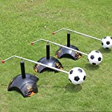 YDCT Football Trainer Equipment Kick Ball Soccer Ground Pass Cross Pass Excessive Dribbling Training Equip