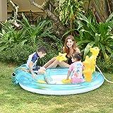 ZYUN Inflable Piscina, para niños y Adultos, Piscina Familiar, para niños, Adultos, Uso del Patio Trasero del jardín al Aire Libre