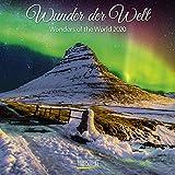 Wunder der Welt 2020: Broschürenkalender mit Ferienterminen. Entdecke die Landschaften der Erde. 30 x 30 cm - Wandkalender