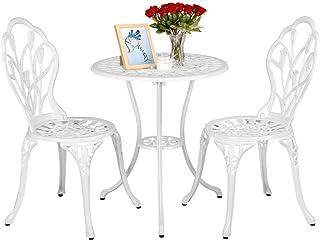 Superb Amazon Com White Patio Furniture Sets Download Free Architecture Designs Scobabritishbridgeorg