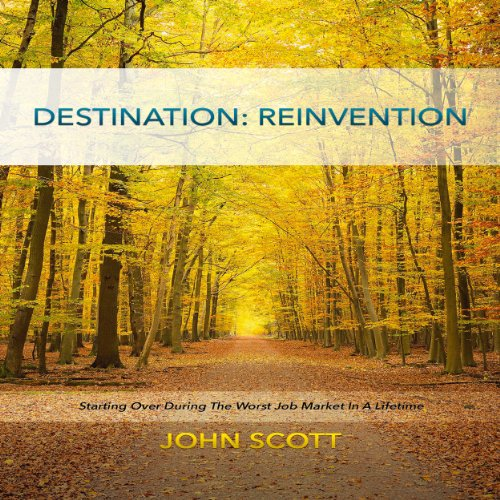 Destination: Reinvention  audiobook cover art