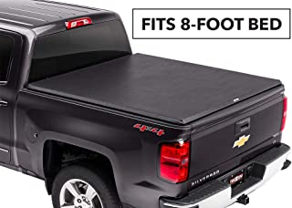TruXedo TruXport Soft Roll Up Truck Bed Tonneau Cover |271601| fits 2007 - 2013 GMC Sierra/Chevy Silverdo 1500, 2014 2500/3500, 8' Bed