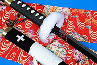 AIT Collectibles S3116 Anime ONE Piece Trafalgar Law Supernova Death Surgeon Gun Metal Sword Black 41