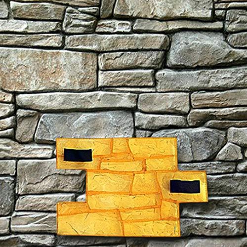 Polyurethane Mat Stamp GRANITE CHIPPED | Texturing Skin Slate Pattern Stone Decorative Concrete Cement Imprint Polyurethane Texture Stamp Mat Polyurethane Stamping