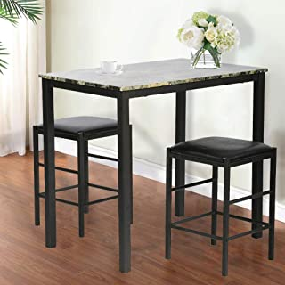 Amazon Com Under 100 Dining Table Chair Sets
