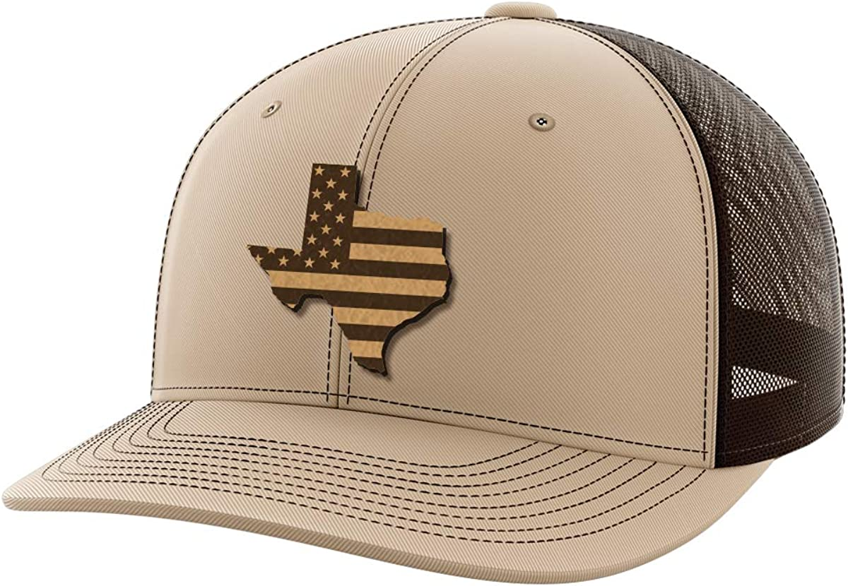 Texas United Leather Patch Hat