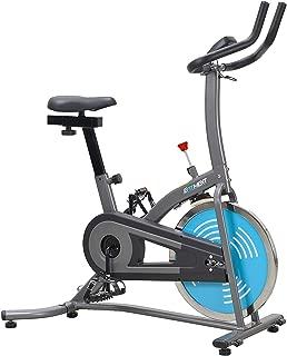 EFITMENT Indoor Cycle Bike, Quiet Belt Drive Cycling Trainer Exercise Bike; 22 LB Flywheel, LCD Montior - IC007