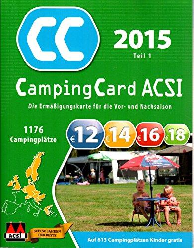Camping Card ACSI 2015 - 2 Teile