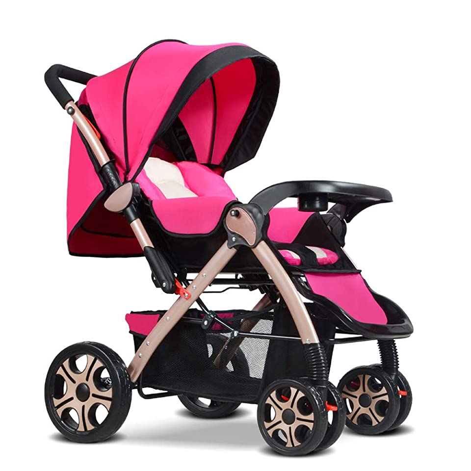 何よりもヘッジ唯物論高い風景 贅沢 人形 乳母車 色 紫の そして 黒 対 回転ホイール そして 調整可能 ハンドル そして 無料 ブラケットバッグ