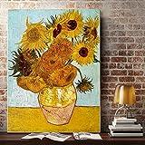 N / A Pintura sin Marco Bodegón Arte Seda Cartel decoración del hogar pintura63X84cm