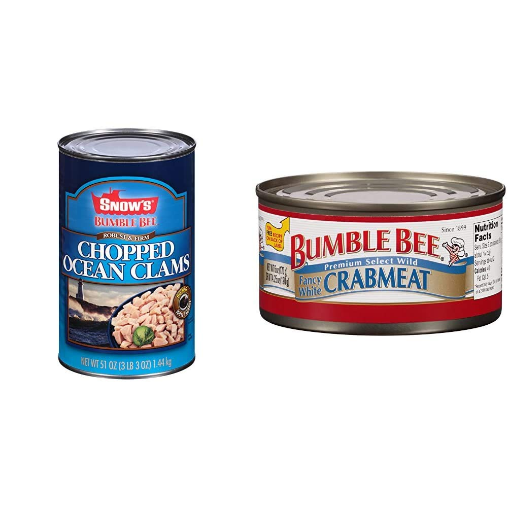 BUMBLE BEE Large special price !! SNOW'S Ocean Chopped Manufacturer OFFicial shop Clams 5 Free Food Gluten Bulk