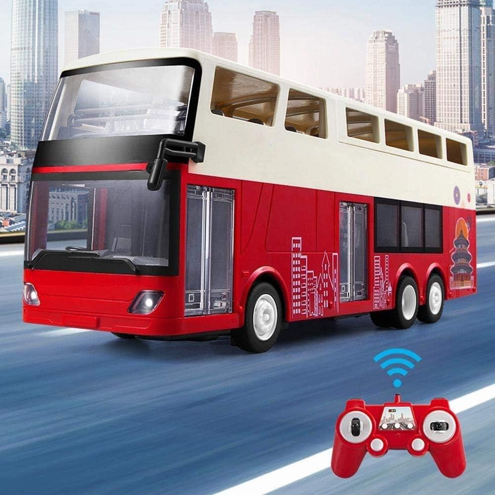 Moerc RC Autobús 1/18 Doble Decker Control Remoto Car 2.4G ...