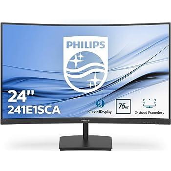 Philips 241E1SCA/00- Monitor Curvo de 23.6
