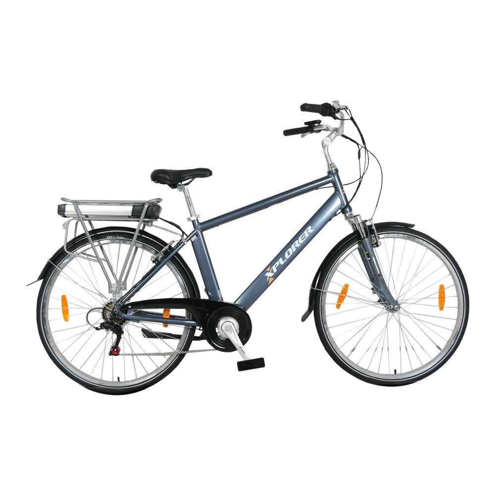 Silver Line, 26 Pulgadas, Bicicleta Eléctrica para Adultos, E-Bike ...