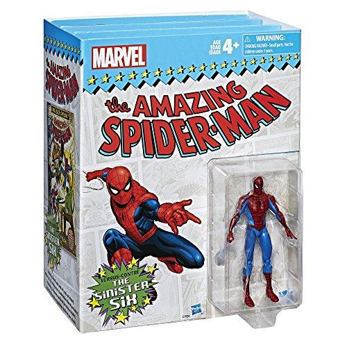 Serie las leyendas de Marvel. El hombre araña vs. los seis siniestros, 3.75 pulgadas