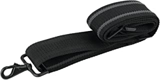 Made in USA Black Heavy Duty Grip Strip Replacement Shoulder Luggage Travel Bag Strap 2