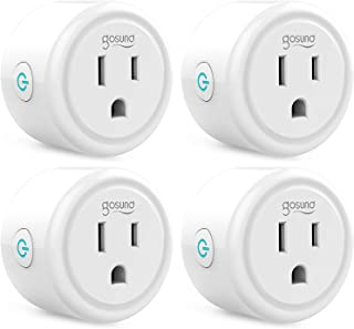 Smart Plug TanTan Wi-Fi Mini Socket Smart Outlet, Work with Alexa and Google Home, No Hub Required, Remote Control Your De...