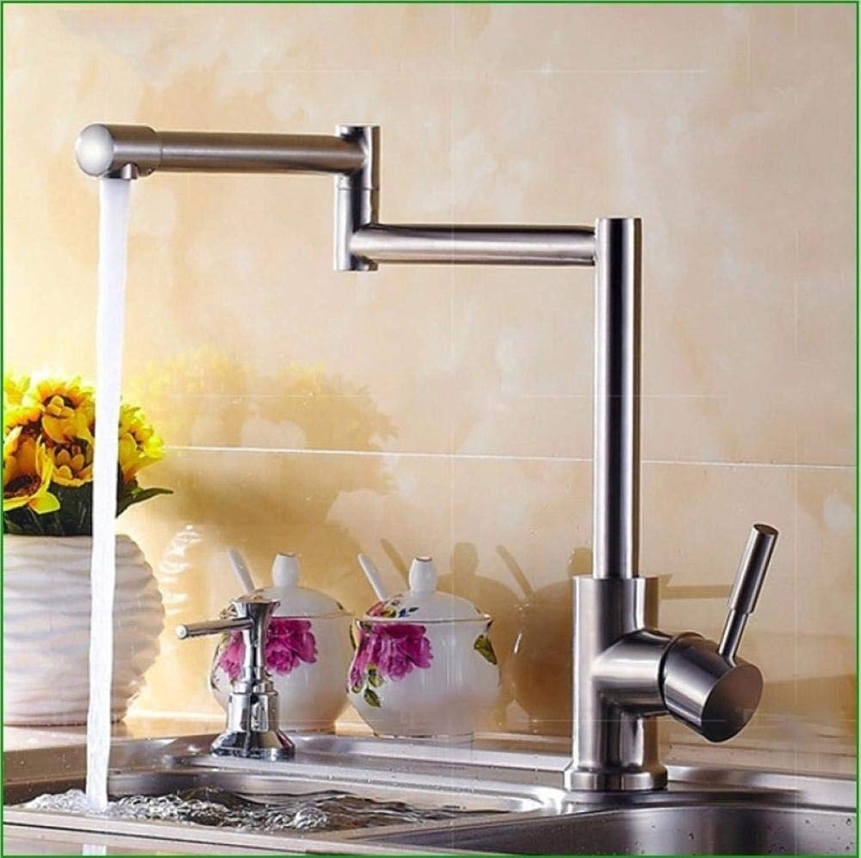 Wffmx Heies Und Kaltes Wasser Mischbatterie 304 Edelstahl Wasserhahn Küchenklapp Wasserhahn Teller Zeichnung Wasserhahn