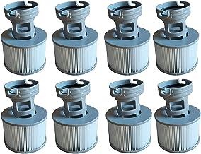 WuYan Lot de 8 Accessoires pour filtres de Jacuzzi MSPA,Comprend 8 adaptateurs de Base à Visser de rechangepour Mspa Pompe...