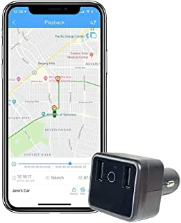 ShieldGPS Car GPS Tracker and USB Charger with Live Audio - for Vehicle Tracking, Anti Theft and Surveillance