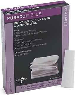 Medline MSC861X8EPZ Puracol Plus Collagen Dressings, Rope (Pack of 10)