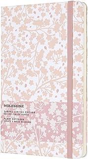 Moleskine Limited Edition Notebook Sakura Oriental, Large, Plain, White Wh6, Hard Cover (5 X 8.25)