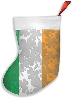 not Big Boys Irish Flag Christmas Ornaments Santa Snowman Candy Socks Snack Bag Christmas Tree Ornaments