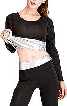 Vrouwen Fitness Zweet Sauna Pak, Neopreen Afslankbroek + Tops Vetverbrander Taille Trainer Gewichtsverlies Set Yoga Tops B...