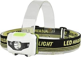 Cikuso COB LED Mini Lampe Frontale Phare 3 Modes T/ête /éTanche /à La Pluie Torche T/ête Lampe De Poche pour Camping en Plein Air P/êche Rouge