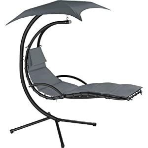 TecTake Hanging Lounger Helicopter Chair - Various Colour Options