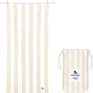 Dock & Bay Lightweight Beach Towel for Travel - Extra Large XL 78x35, Large 63x31 - Swim, Pool, Yoga, Travelling