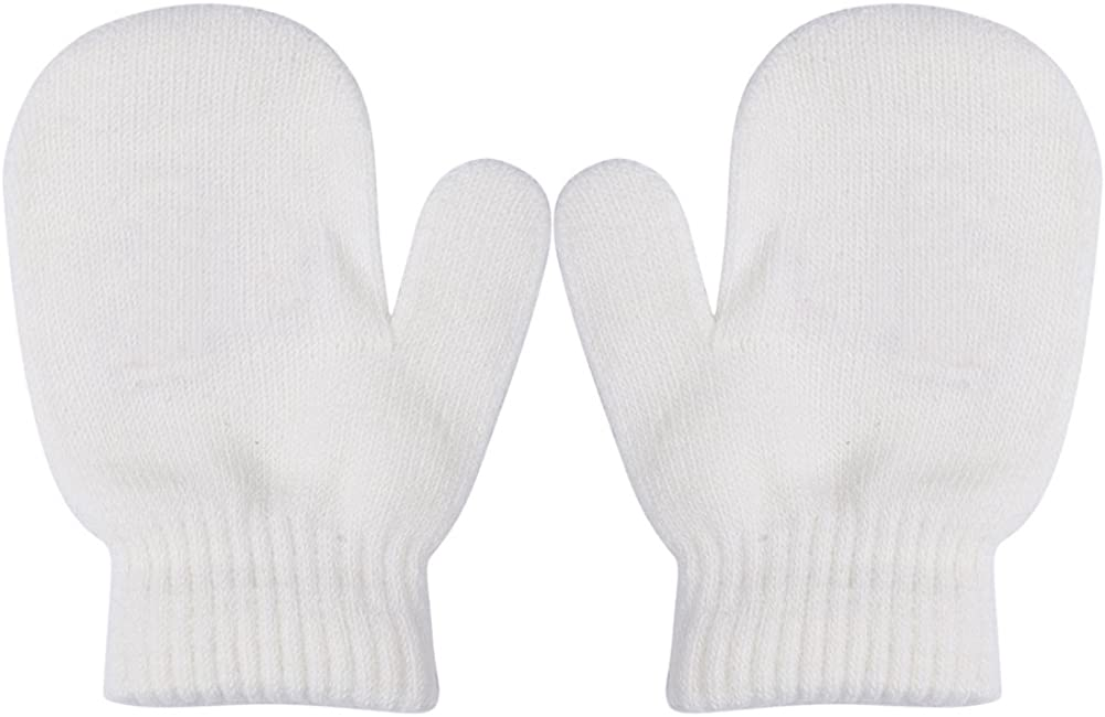 Toddler Unisex Baby Girl Boy Solid Warm Knit Challenge the lowest price Gloves Sales of SALE items from new works Color Magic