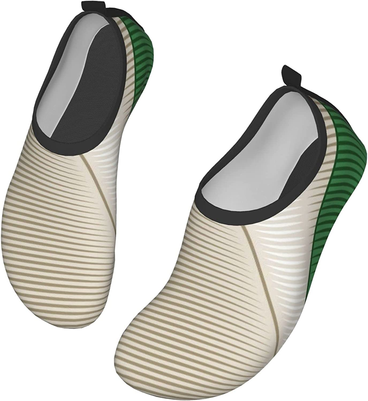 Vintage Flag of Italy Men's Women's Water Shoes Barefoot Quick Dry Slip-on Aqua Socks for Yoga Beach Sports Swim surf