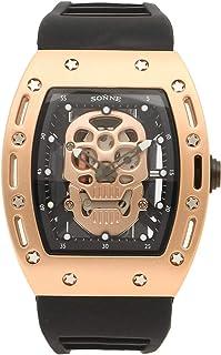 [ゾンネ]腕時計 メンズ SONNE S160PG-BK ブラック ゴールド [並行輸入品]