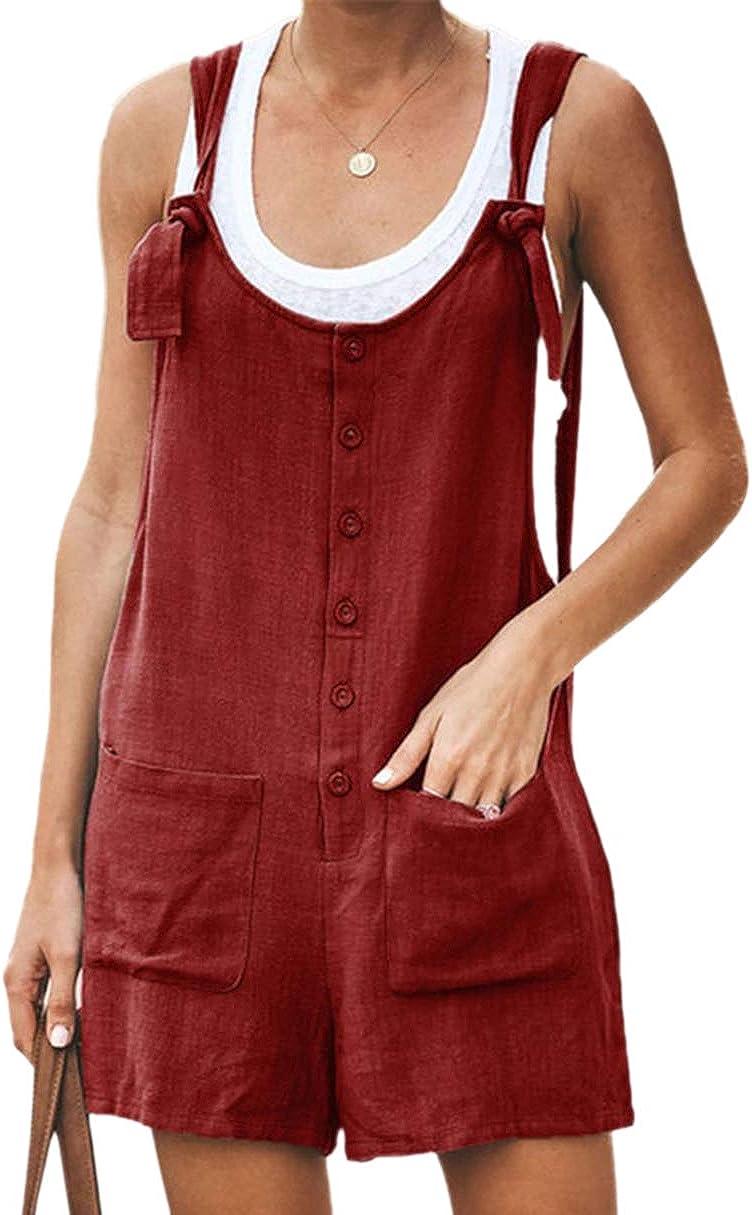 Chengdu Yubaiyang Womens Cotton Linen Store Overalls Max 60% OFF Sho Bib Suspender