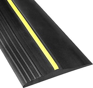 Universal Garage Door Bottom Threshold Seal Strip,20 Feet Length Weatherproof Rubber DIY Weather Stripping - Easy Installa...