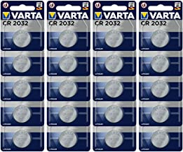 VARTA CR2032 Lithium Knopfzellen 3V Batterie in Original Blisterverpackung, 20er Pack