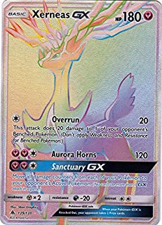 Xerneas GX - 139/131 - Secret Rare - Forbidden Light