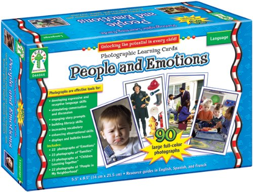 People and Emotions Learning Cards: Photographic Learning Cards