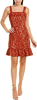 Womens Sheath Dress, Xs, Brown