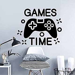 xmksd Games Video Wall for Games Games Decals Video Games Gift Games Room Games Decorate Kids Games Video Games Child 57X46Cm